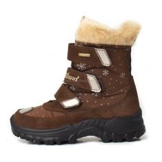 Cizme copii, cizme pentru copii de iarna, impermeabile, talpa ortopedica, imblanite, cizme Grisport, oferim numai (GR9346SV96LG ), Marime: 29, 30, 31, 32, 33, 35, Culoare: Maro