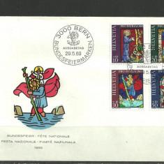 Elvetia 1969 – VITRALII, FDC