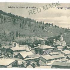 644 - Bukowina, PUTNA, Fabrica de ciment - old postcard - unused - Carte Postala Bucovina 1904-1918, Necirculata, Printata