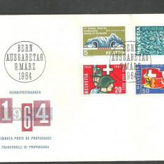 Elvetia 1964 – ANIVERSARI, FDC