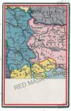 3039 - MAP, Craiova, Alexandria, Pitesti - old postcard - unused, Necirculata, Printata
