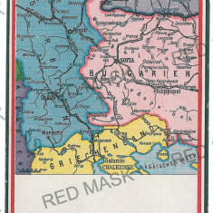 3039 - MAP, Craiova, Alexandria, Pitesti - old postcard - unused - Carte Postala Muntenia 1904-1918, Necirculata, Printata