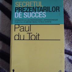 Carte de autoeducare, dezvoltare personala - Secretul prezentarilor de succes - Carte dezvoltare personala, Curtea Veche