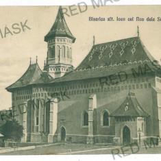 1370 - Bukowina, SUCEAVA, Church - old postcard - used - Carte Postala Bucovina 1904-1918, Circulata, Printata
