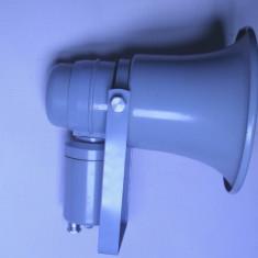 Megafon sirena difuzor extem de rar goarna anii 80 militie armata de colectie