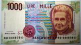 165 ITALIA MONTESSORI 1000 LIRE 1990 SR. 838