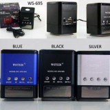 Mini Boxa Portabila Cu MP3 Player si Radio Fm - Slot card si USB WS-695