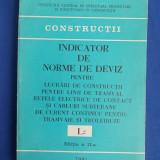 INDICATOR DE NORME DE DEVIZ LUCRARI DE CONSTRUCTII LINII DE TRAMVAI ( L2 ) -1981 - Carti Constructii
