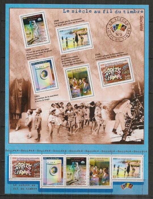 Franta.2000 Societatea in secolul XX-coala mica  SF.969 foto mare