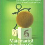 (C6308) STEFAN SMARANDOIU - MATEMATICA PENTRU CLASA A VI-A, PARTEA A II-A, 2013 - Carte Matematica