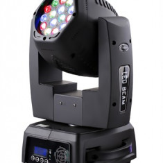 NOU.MOVING HEAD BEAM CU 2 FETE SI 30 LEDURI DE MARE PUTERE 3 WATT, COLOR RGB, DMX - Moving heads club