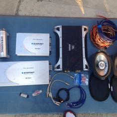 Amplificator Blaupunkt GTA 4 Special MK II - Amplificator auto Blaupunkt, peste 200W