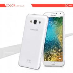 Husa PREMIUM HOCO Light SAMSUNG GALAXY E7, ultra slim, culoare TRANSPARENT - Husa Telefon Hoco, Gel TPU