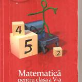 (C6305) MARIUS PERIANU - MATEMATICA PENTRU CLASA A V-A, PARTEA A II-A, 2013 - Carte Matematica