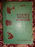 Economia vanatului si salmonicultura an 1956/708pagini- V.Cotta