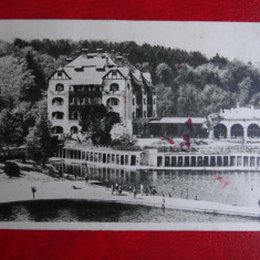 Carte postala - Vedere - Ocna sibiului - Carte Postala Banat dupa 1918, Circulata, Printata