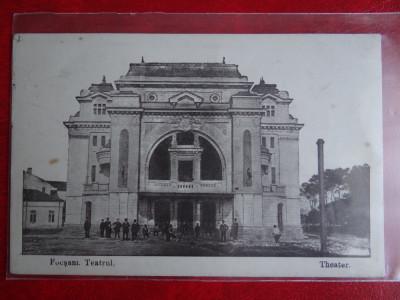 AKVDE2 - Carte postala - Vedere -  Focsani - Teatrul - Feldpost foto