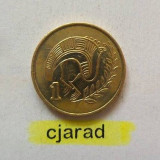 Moneda 1 Cent - Cipru 1994 *cod 875, Europa