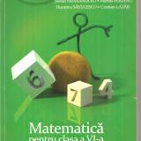 (C6307) STEFAN SMARANDOIU - MATEMATICA PENTRU CLASA A VI-A, PARTEA A I-A, 2013 - Carte Matematica