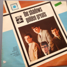 THE SHADOWS - GOLDEN GREATS (1970 /EMI REC/ RFG ) - DISC VINIL/VINYL/RAR - Muzica Rock Columbia