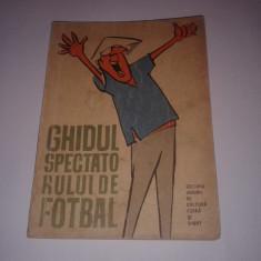 PETRE GATU - GHIDUL SPECTATORULUI DE FOTBAL ~ desene de MATTY - Carte sport