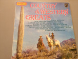 COUNTRY & WESTERN GREATS (1973/ PHILIPS REC/ RFG)- VINIL/IMPECABIL/VINYL/COUNTRY, universal records