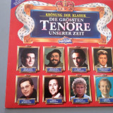 GREAT TENORS -cu PAVAROTTI,CARRERAS,DOMINGO... (1976/ POLYDOR REC/ RFG ) - VINIL
