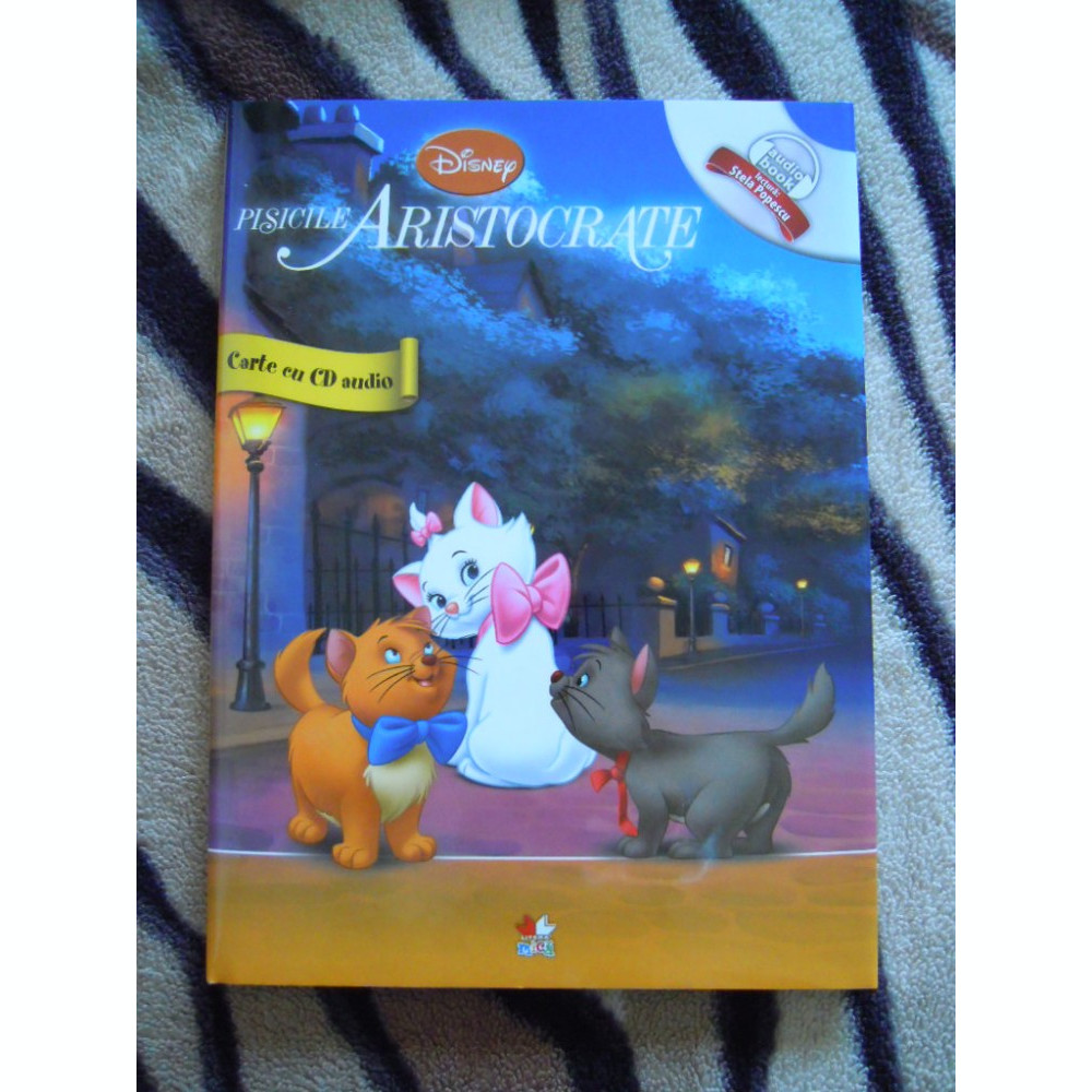Carte Cu Povesti Audio Book Cd Pisicile Aristocrate