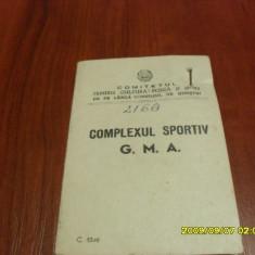 Brevet +insigna G.M.A  gradul 1  1952