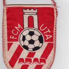 Fanion fotbal FCM UTA (ARAD)