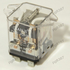 Releu 24V, 30A, 57x43x37 mm - 128514