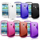 Cumpara ieftin Husa Samsung Galaxy S3 Mini i8190 + folie + stylus, Gel TPU
