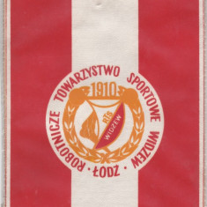 Fanion fotbal WIDZEW LODZ (Polonia)