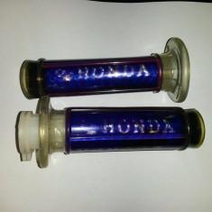 Mansoane Moto Honda Albastru/Negru/Rosu
