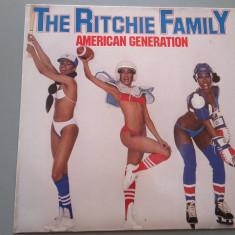 THE RITCHIE FAMILY - AMERICAN GENERATION (1978/ WARNER REC/ RFG) - VINIL/VINYL - Muzica Pop