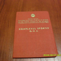 Brevet G.M.A Dinamo Deva 1955