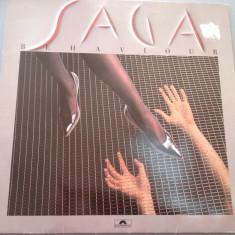 SAGA - BEHAVIOUR (1985 /POLYDOR REC/ RFG) - DISC IMPECABIL/ VINIL/VINYL/ROCK, universal records