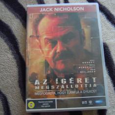 Film pe DVD - Az igeret megszallottja - Jack Nicholson