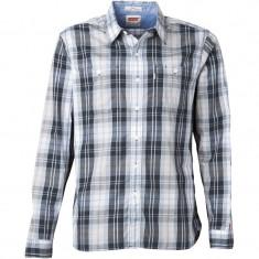 Camasa barbati LEVI'S 100% originala, noua, import Anglia, in tipla, etichetata, Marime: S, Culoare: Din imagine, Maneca lunga