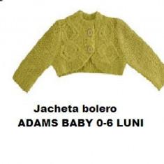 Jacheta tricotata bolero pulover bebe 0-6 luni ADAMS BABY UK verde crud noua eti Esprit, Unisex