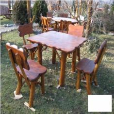 Masa cu 4 scaune Gardenland - MSE 017 - Masa gradina