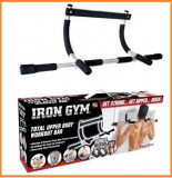 Bara de tractiuni/Bara Fitness Iron Gym, Pe usa, Iron Gym