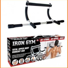 Bara de tractiuni/Bara Fitness Iron Gym