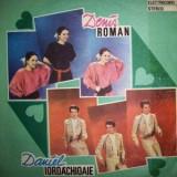 DANIEL IORDACHIOAIE DENIS ROMAN disc Vinyl lp album muzica pop usoara romaneasca