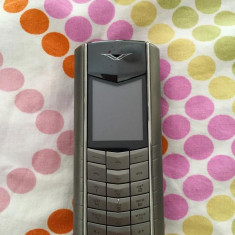 Vertu Ascent - Telefon mobil Vertu, Argintiu, Neblocat, Nu se aplica, Clasic, Fara camera
