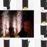 artificii vulcani de interior fara fum fara miros   cu declansare electrica