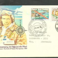 Australia 1984 - PIONIERI AVIATIE, CHARLES ULM, FDC
