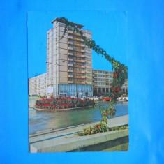 HOPCT 20297 SUCEAVA -VEDERE DIN CENTRU -JUD SUCEAVA [CIRCULATA] - Carte Postala Bucovina dupa 1918, Printata