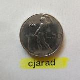 Moneda 50 Lire - ITALIA, anul 1992 *cod 892 ---- A.UNC, Europa