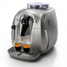 Expresor cafea Philips Saeco Xsmall Chrome HD8747/09 - Espressor automat Philips, 15 bar, Automat